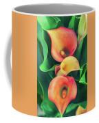 Orange Calla Lily Coffee Mug