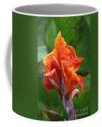 Orange Canna Art Coffee Mug
