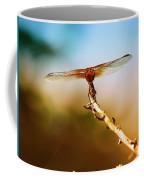 Orange Dragonfly Wings I Coffee Mug