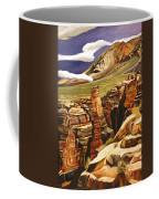 Orange Flats Coffee Mug
