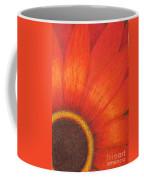Orange Flower Coffee Mug