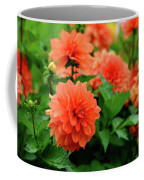 Orange Flowers Coffee Mug