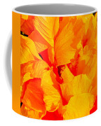 Orange Frills Coffee Mug
