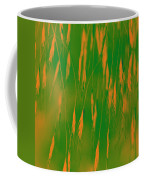 Orange Grass Spikes Coffee Mug