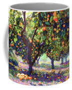 Orange Grove Of Citrus Fruit Trees Coffee Mug
