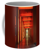 Orange Hallway Coffee Mug