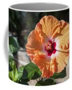 Orange Hibiscus Coffee Mug