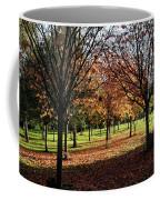 Orange Leaves Coffee Mug