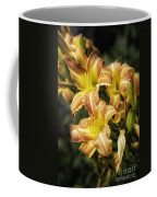 Orange Lilies Portrait Coffee Mug