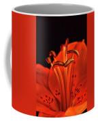 Orange Lilly  Coffee Mug