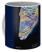 Orange-lined Trigger Coffee Mug