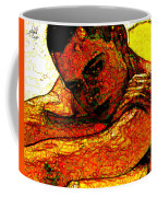 Orange Man Coffee Mug
