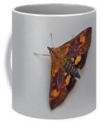 Orange Mint Moth - Pyrausta Orphisalis Coffee Mug