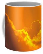Orange Misty Sky Coffee Mug