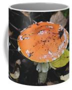 Orange Mushroom Coffee Mug