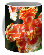 Orange Orchid Coffee Mug