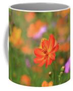 Orange Painted Landscape Coffee Mug