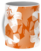 Orange Poster Lilies Coffee Mug