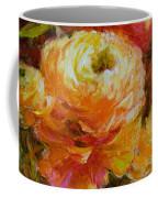Orange Ranunculus Coffee Mug