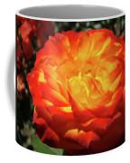 Orange Red Rose Flower Art Prints Giclee Baslee Troutman Coffee Mug