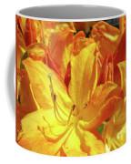 Orange Rhodies Flowers Art Rhododendron Baslee Troutman Coffee Mug