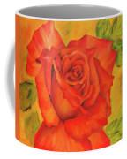 Orange Rose Blossom Coffee Mug