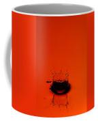 Orange Splash Coffee Mug by Steve Gadomski