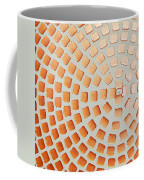 Orange Squares Coffee Mug