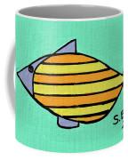 Orange Stripes Coffee Mug
