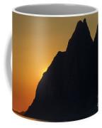 Orange Sunlight And Midnight Coffee Mug