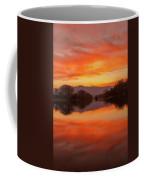 Orange Sunset Coffee Mug