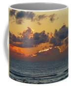 Orange Sunset Oregon Coffee Mug