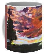 Orange Sunset Spectator Coffee Mug