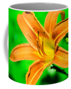 Orange Tiger Lily Coffee Mug