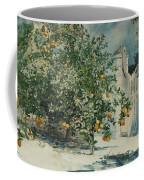 Orange Trees And Gate Coffee Mug