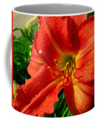 Orange Trumpeting Lily Coffee Mug