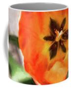 Orange Tulip Bloom Coffee Mug