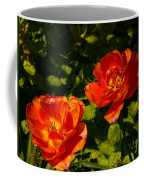 Orange Tulips In My Garden Coffee Mug