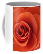 Orange Twist Rose 5 Coffee Mug