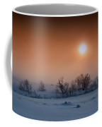 Warm Winter Sun Snow Duel Coffee Mug