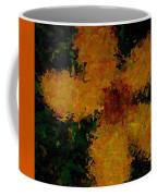 Orange-yellow Flower Coffee Mug