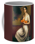 Oranges And Lemons Coffee Mug by Julio Romero de Torres