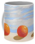 Oranges On A Ledge Coffee Mug