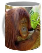 Orangutan Coffee Mug by Carolyn Marshall