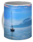 Orcas Sailboat Coffee Mug