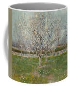 Orchard In Blossom Plum Trees Coffee Mug