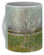 Orchard In Blossom, Plum Trees Coffee Mug