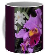 orchid 942 Purple Brassolaeliocattleya  Coffee Mug