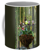 Orchid Basket Coffee Mug