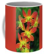Orchid Blooms Coffee Mug